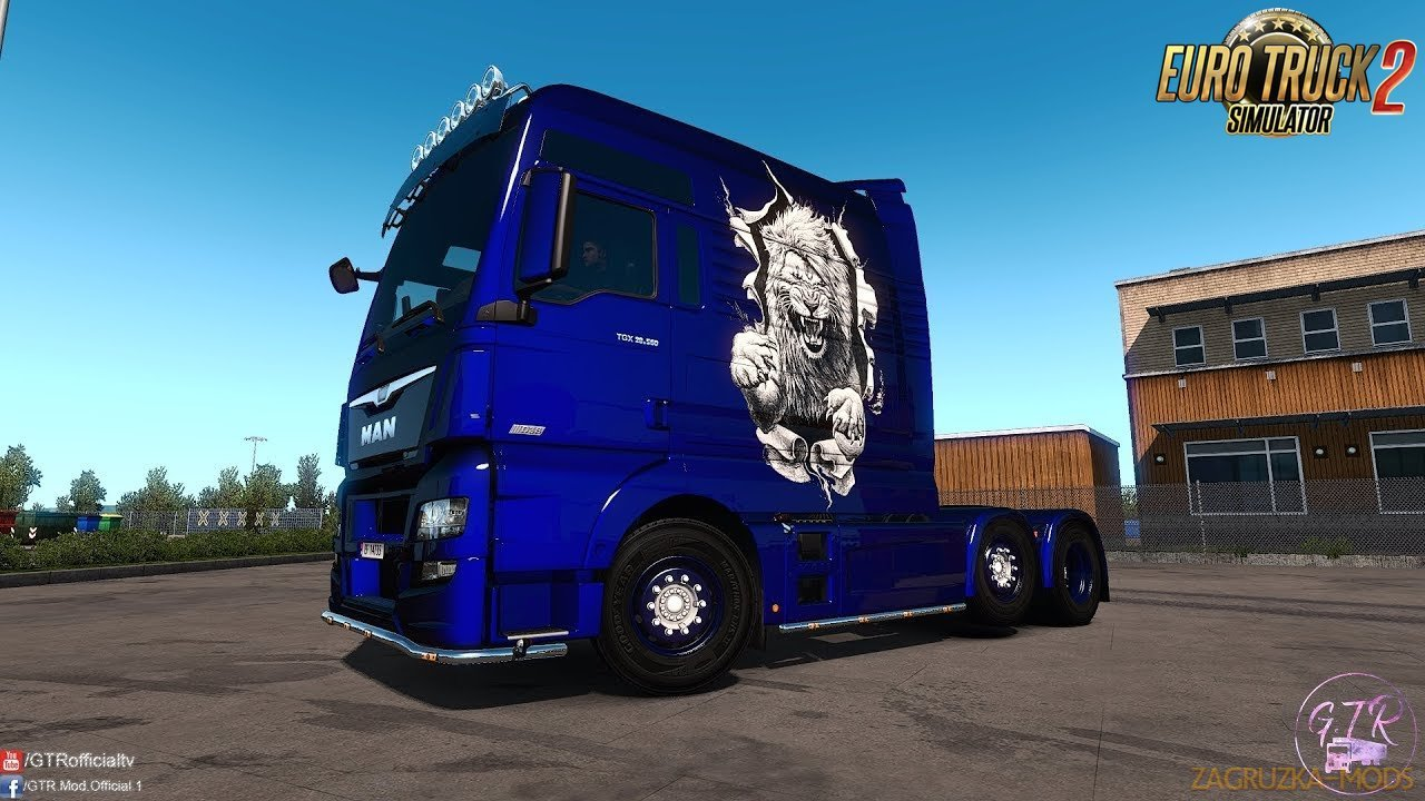 MAN TGX Euro 6 Modifications v1.0 by GTR