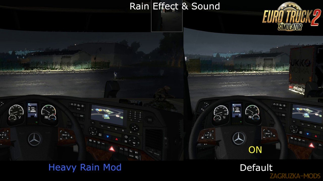 Heavy Rain Mod v1.0 By Darkcaptain