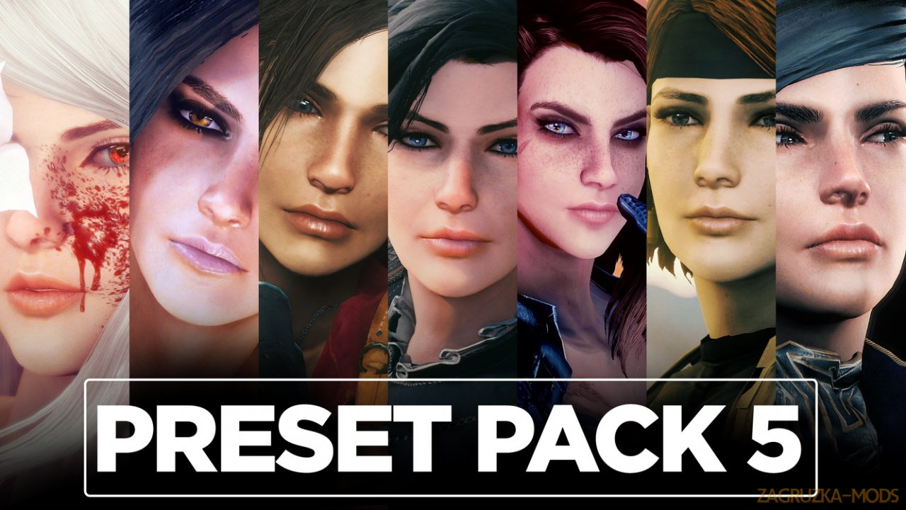 Preset Pack 5 for Fallout 4