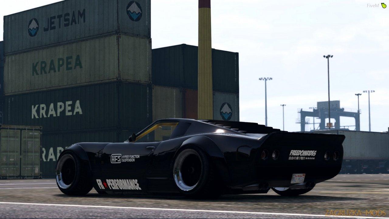Pegassi Monroe Custom v1.0 for GTA 5