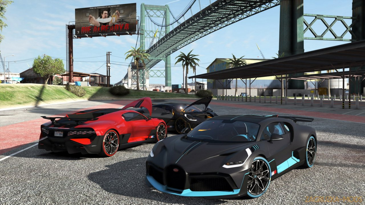 Bugatti Divo 2019 v1.0 by Gta5KoRn for GTA 5
