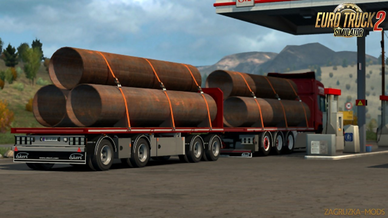 Lunna s Flatbed Addon For Tandem and Ekeri by Kast