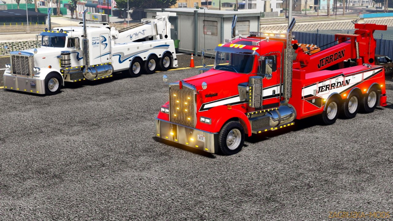 Kenworth W900 2000 Heavy Duty Wrecker v1.0 for GTA 5