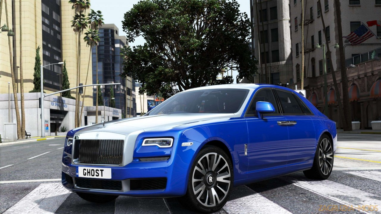 Rolls Royce Ghost 2018 v1.0 for GTA 5
