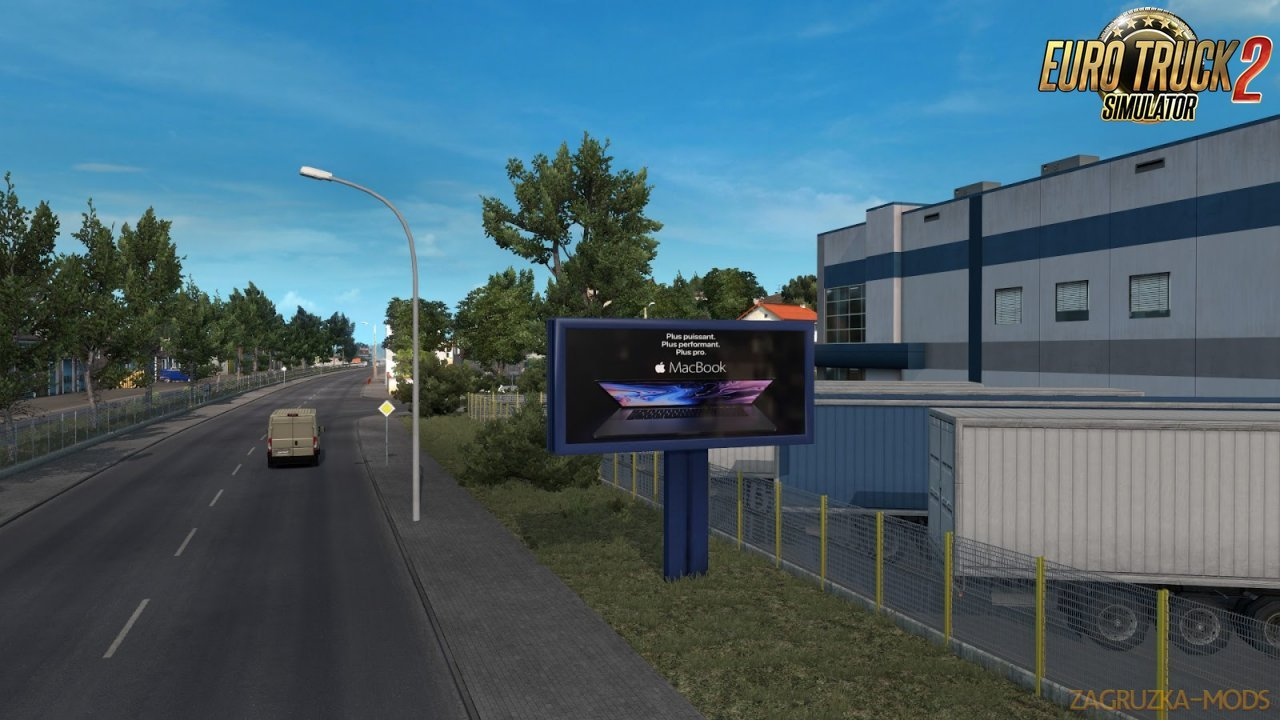 Real Advertisements v1.6 for ETS2