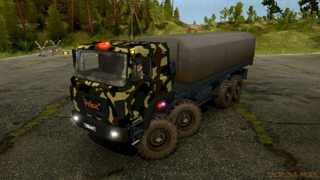 Ural-2512 v1.0 for SpinTires: MudRunner