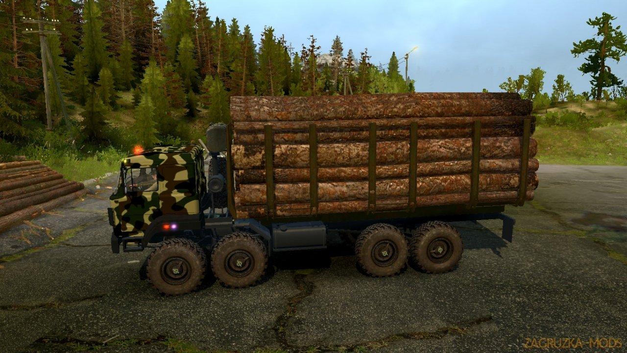 Ural-2512 v1.0 for SpinTires: MudRunner