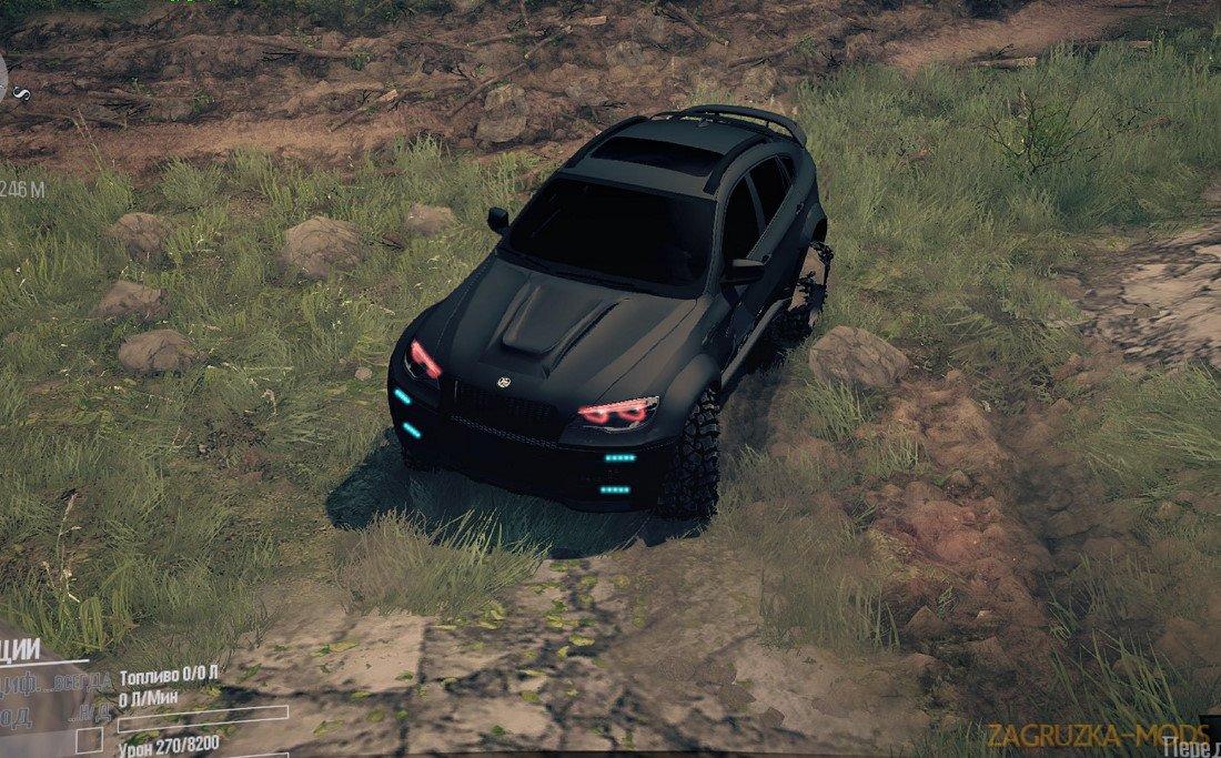 BMW X6 BORZ v1.0 for SpinTires: MudRunner