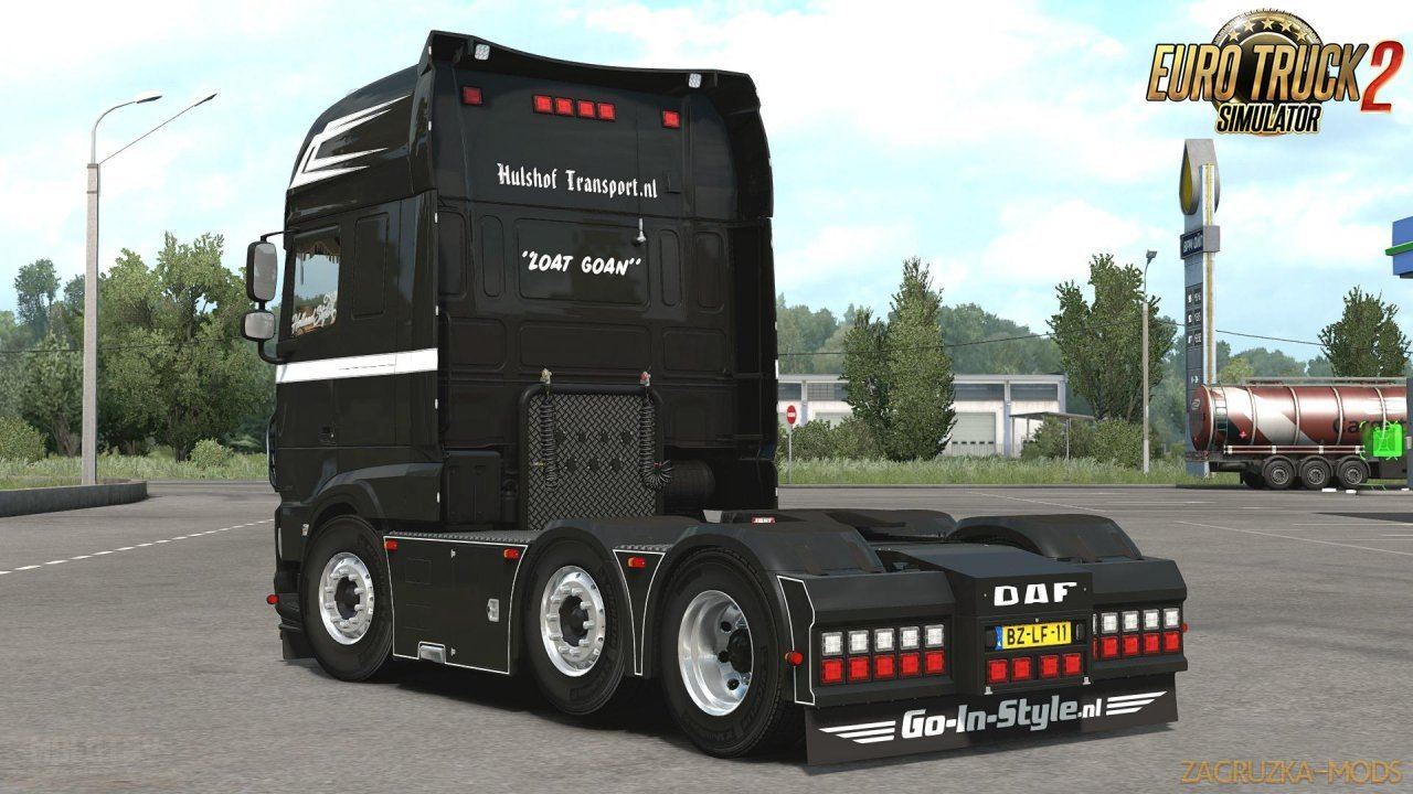 DAF Euro 6 Ragnar Hulshof Edition v1.0 (1.35.x) for ETS2