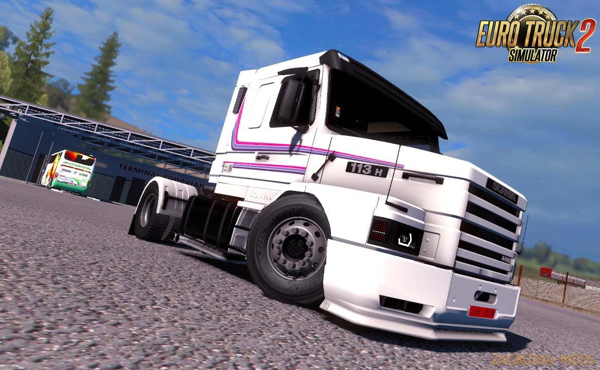 Scania 113H + Interior v3.0 by SG (1.35.x) for ETS2