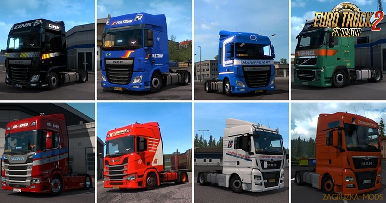 Real Company Truck Skins for Ets2