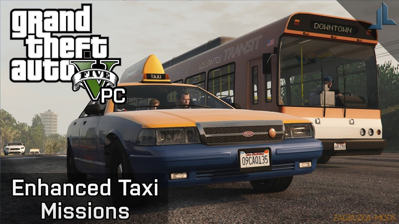 Enhanced Taxi Missions v1.4 for GTA 5