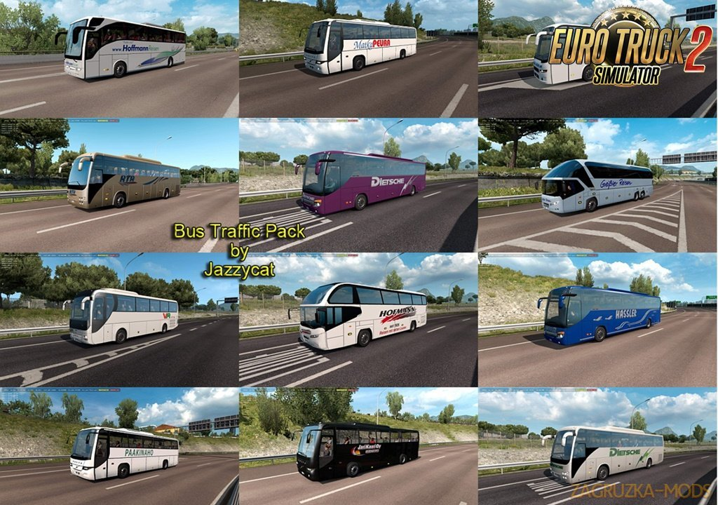 Bus Traffic Pack v7.0 by Jazzycat