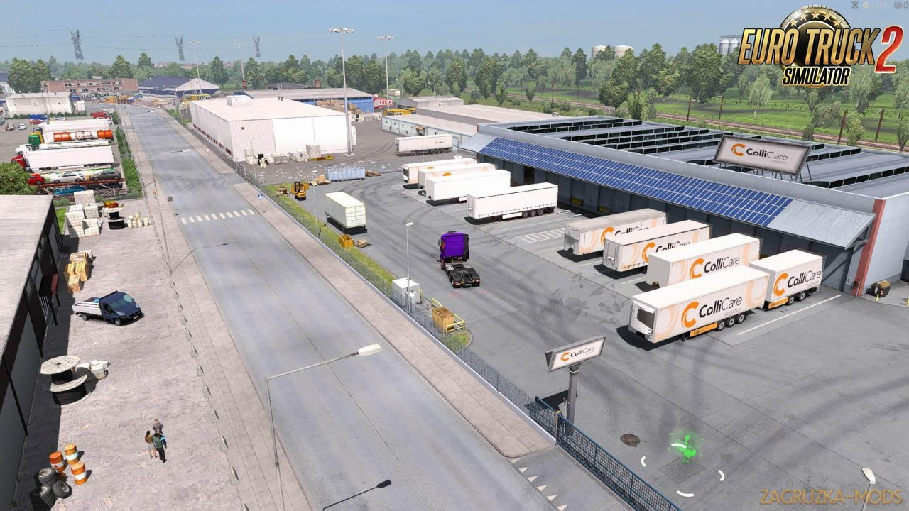 Ultimate Real Companies v1.0 for Ets2