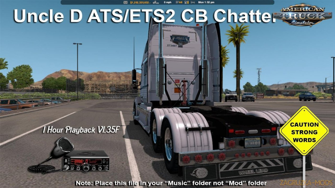 Uncle D CB Chatter v1.35F for ATS