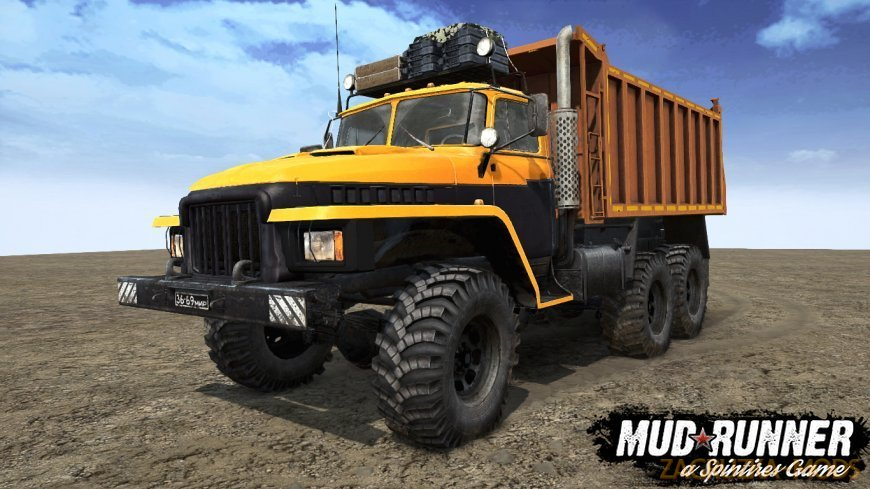 Ural Major Truck v1.2 for Spintires: MudRunner