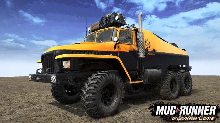 Ural Major Truck v1.2 for Spintires: MudRunner