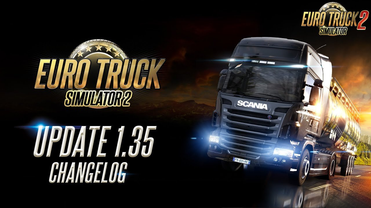 Download Update 1.35 for Euro Truck Simulator 2