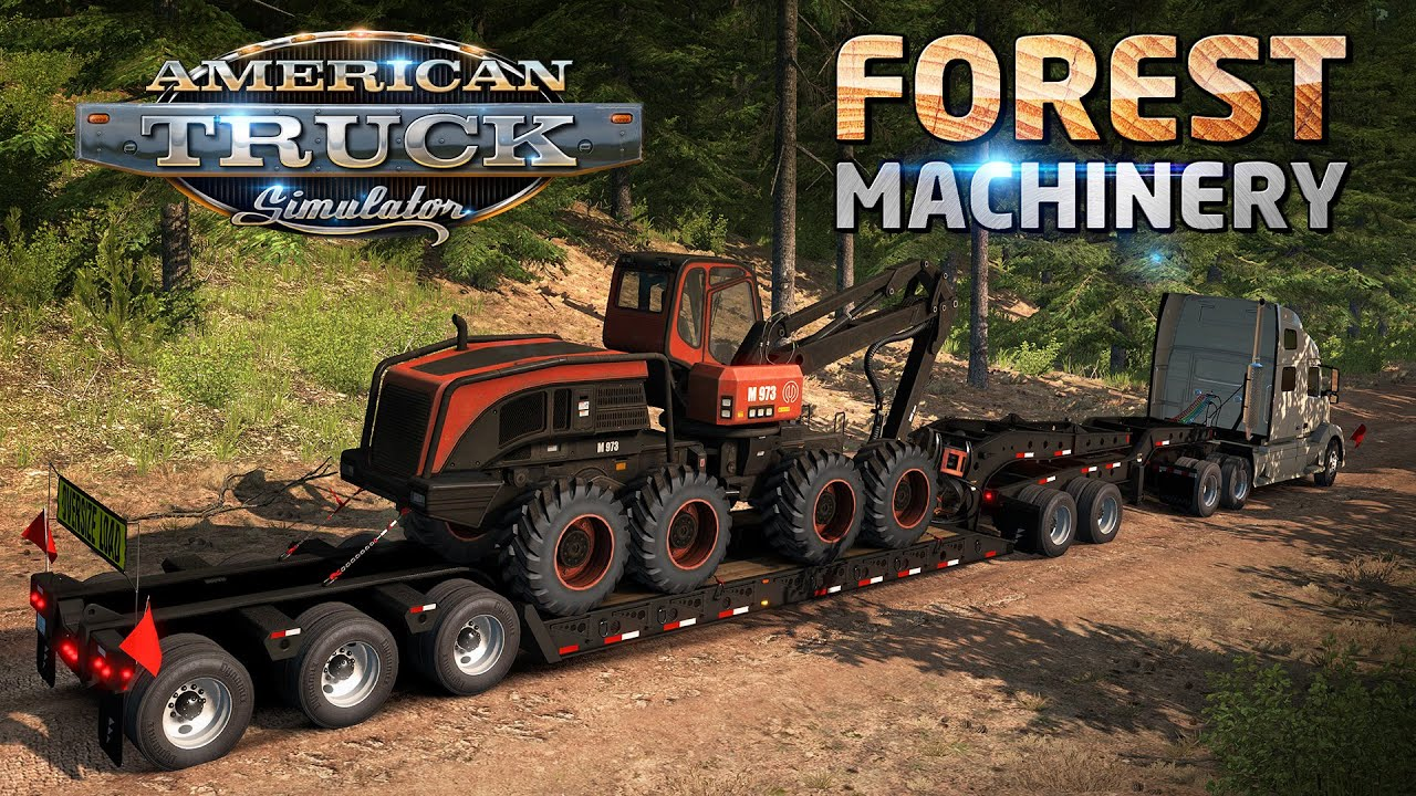 Download Forest Machinery DLC for ATS
