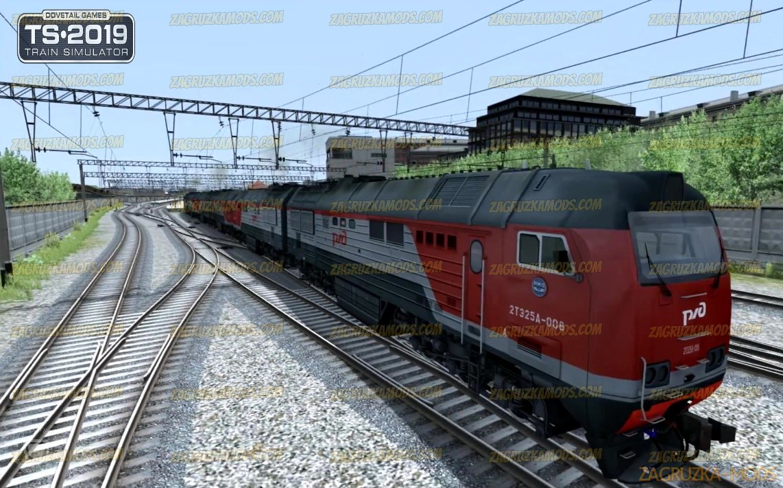 Diesel Locomotive 2TE25A v1.0 for TS 2019