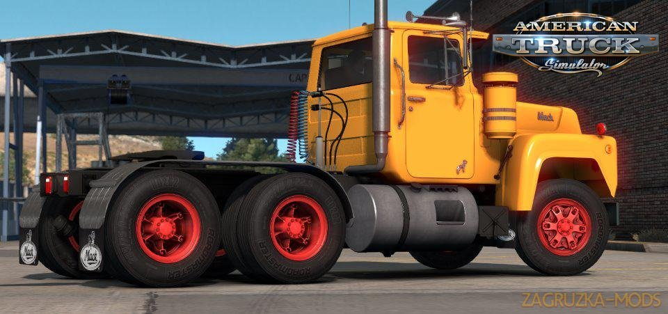 Trilex rims v1.0 by Overfloater (1.35.x) for ATS