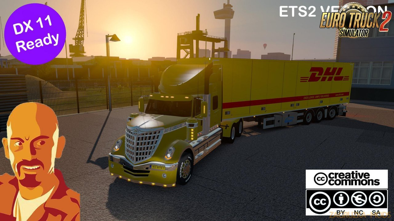 International Lonestar v1.0 by Reworked by CyrusTheVirus (1.35.x) for ETS2