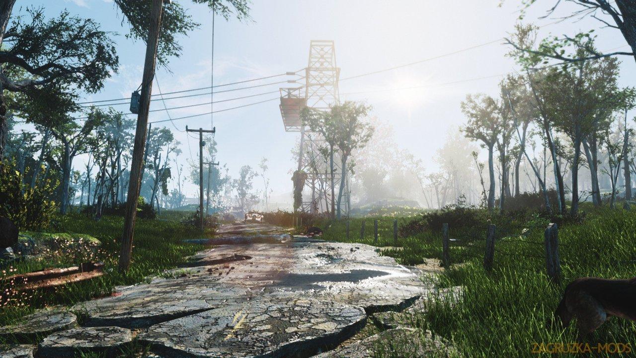 Lenox ENB Graphics Mod v1.0 for Fallout 4