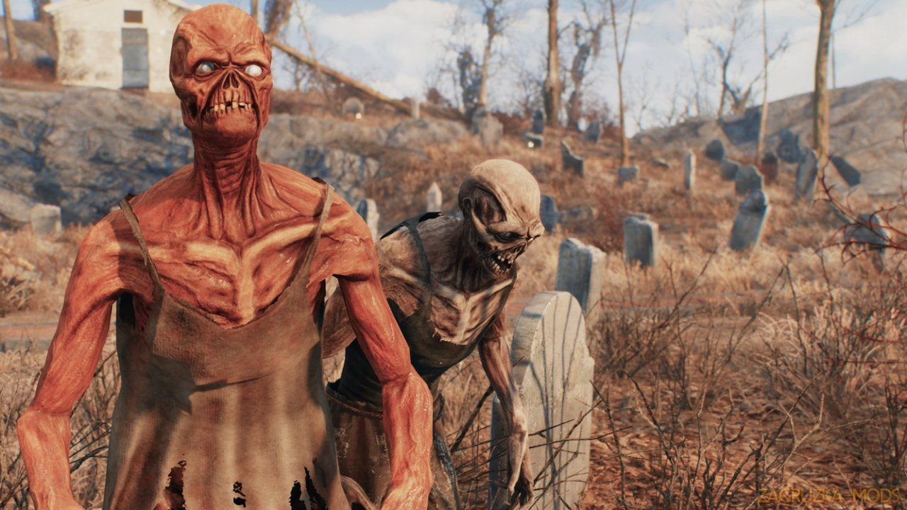Classic Feral Ghouls v1.0 for Fallout 4