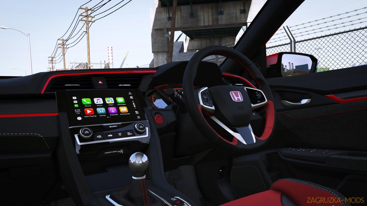 Honda Civic Type-R (FK8) 2018 v2.1 for GTA 5