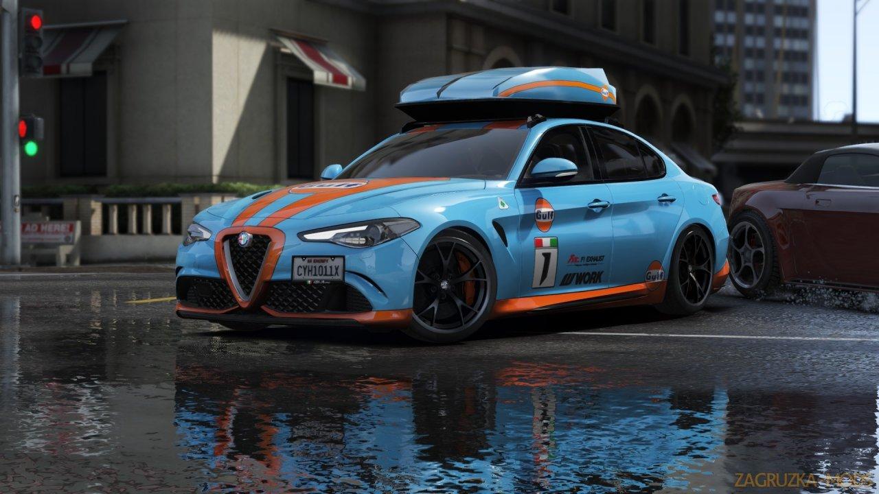 Alfa Romeo Giulia Quadrifoglio 2017 v3.0 for GTA 5