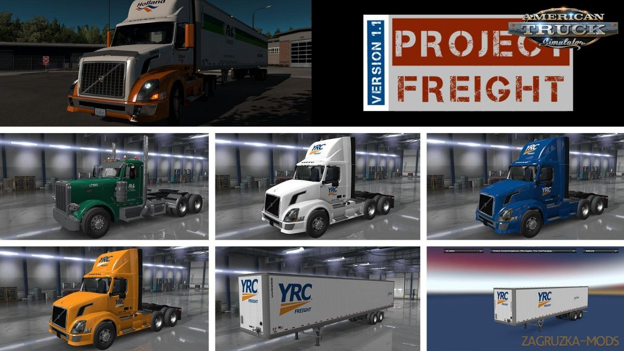 Project Freight v1.1 by HYPENUT (1.35.x) for ATS