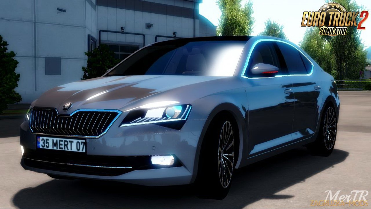 Skoda SuperB 2017 + Interior v1.0 by MerTR (1.35.x) for ETS2