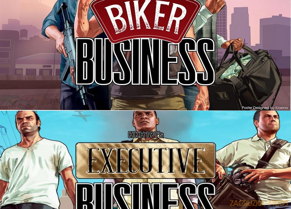 The Business Mega Pack v3.3 for GTA 5