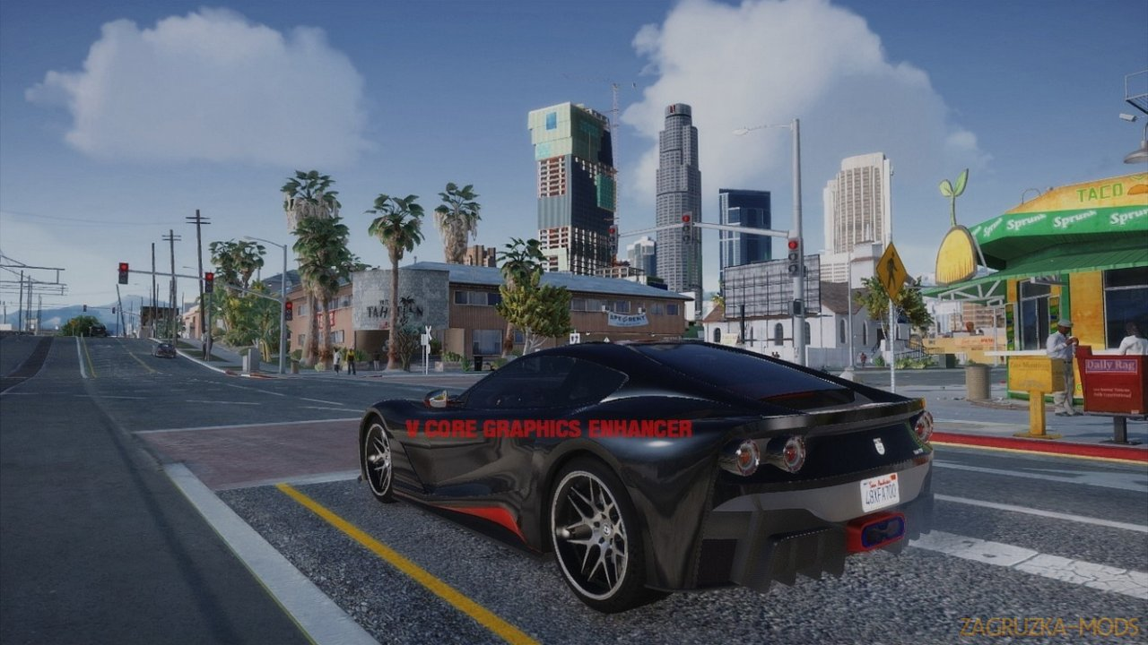 V Core Graphics Enhancer v3.8 for GTA 5