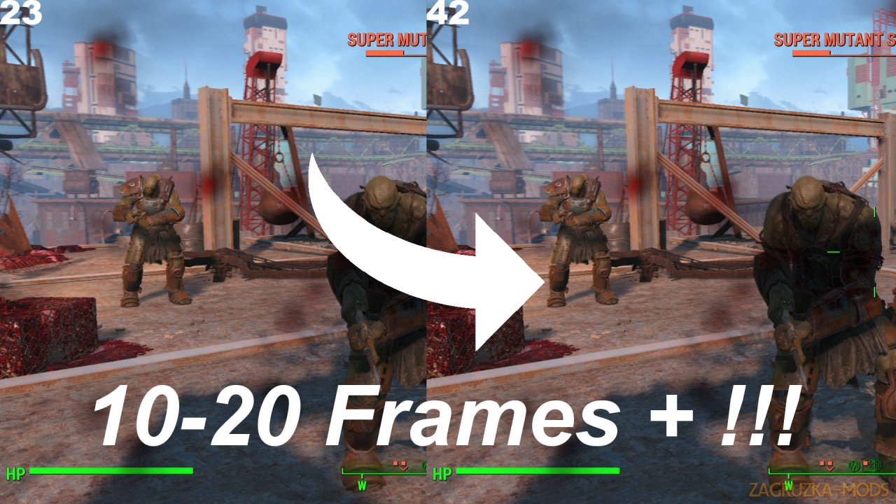 Fallout 4 FPS and Performance Fix v0.3 for Fallout 4