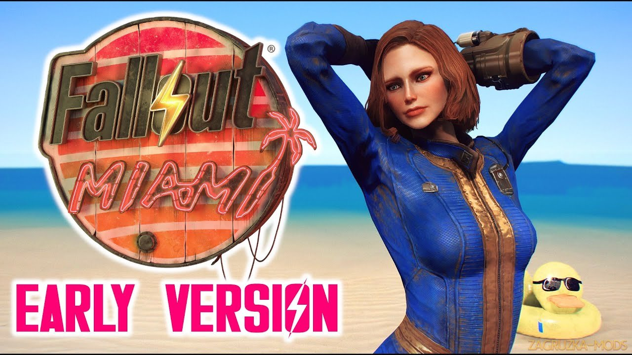 Fallout Miami (Early Version) v1.02 for Fallout 4
