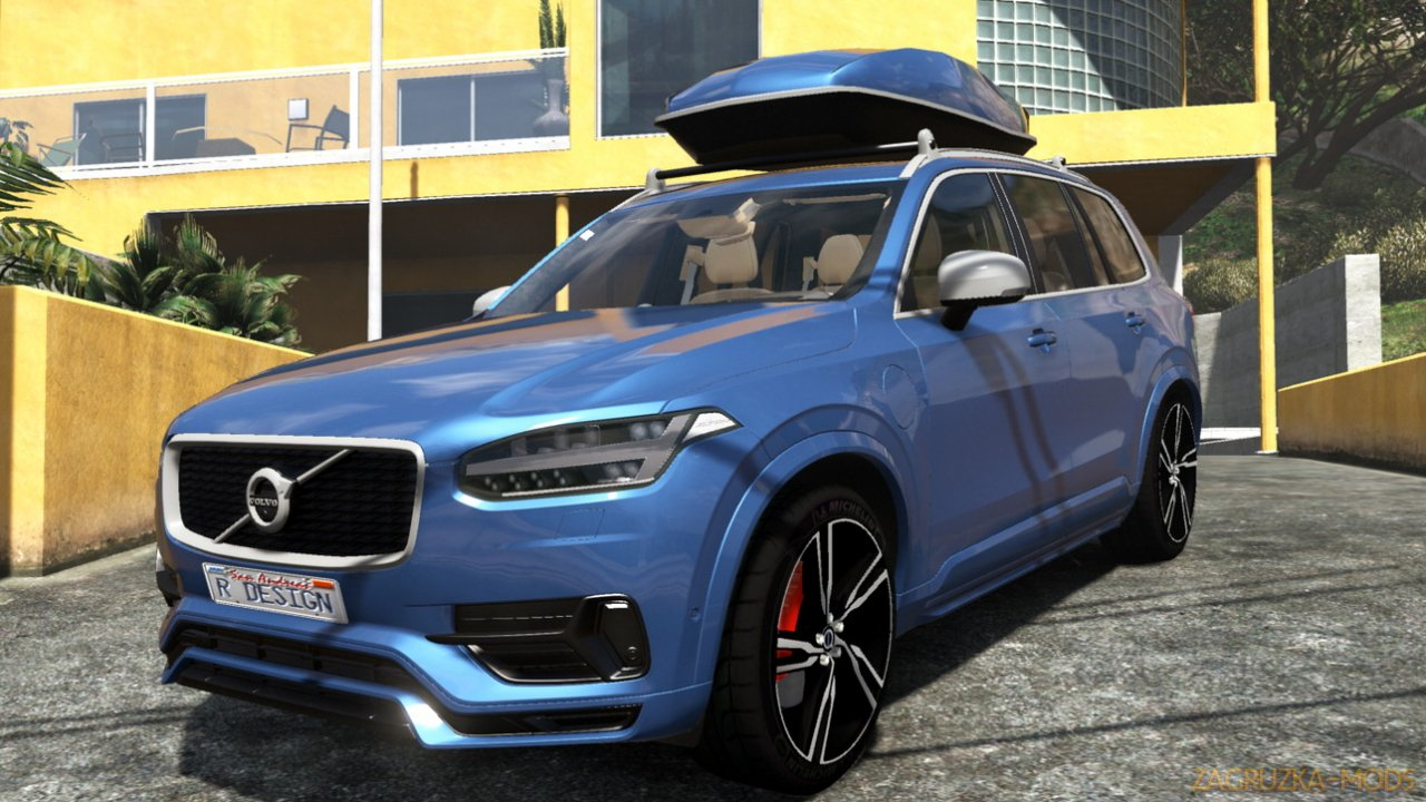 Volvo Xc90 T8 R-Design 2017 v1.0 for GTA 5