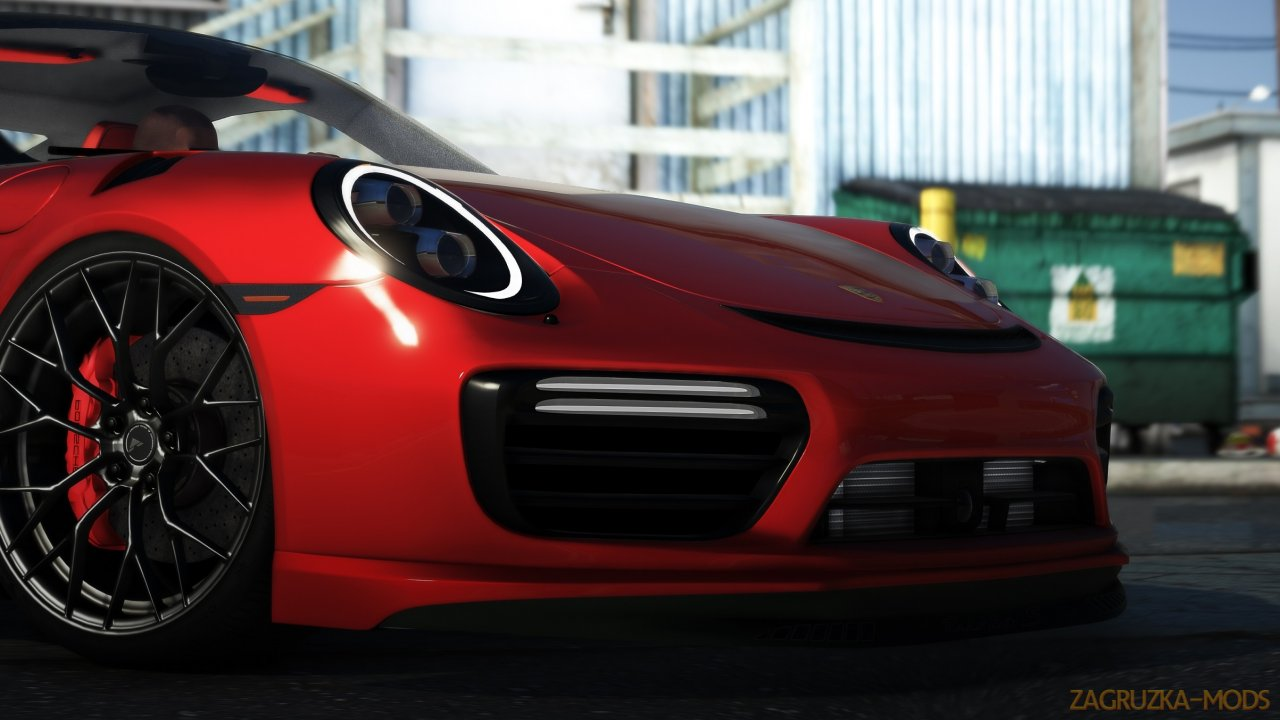 Porsche Turbo S Moshammer 2015 v0.6 for GTA 5