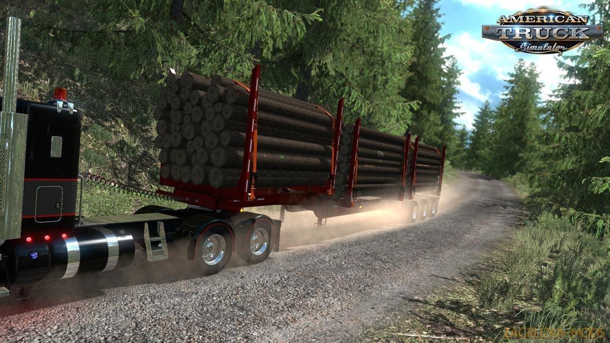 Trailer Arctic HR-51TR Short Logger v1.0 (1.35.x) for ATS