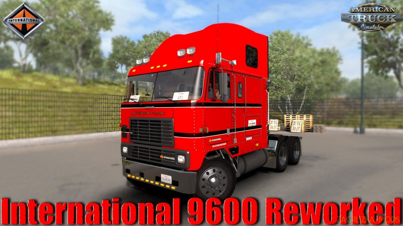 International 9600 + Interior v1.0 Reworked by vasja555 (1.35.x)