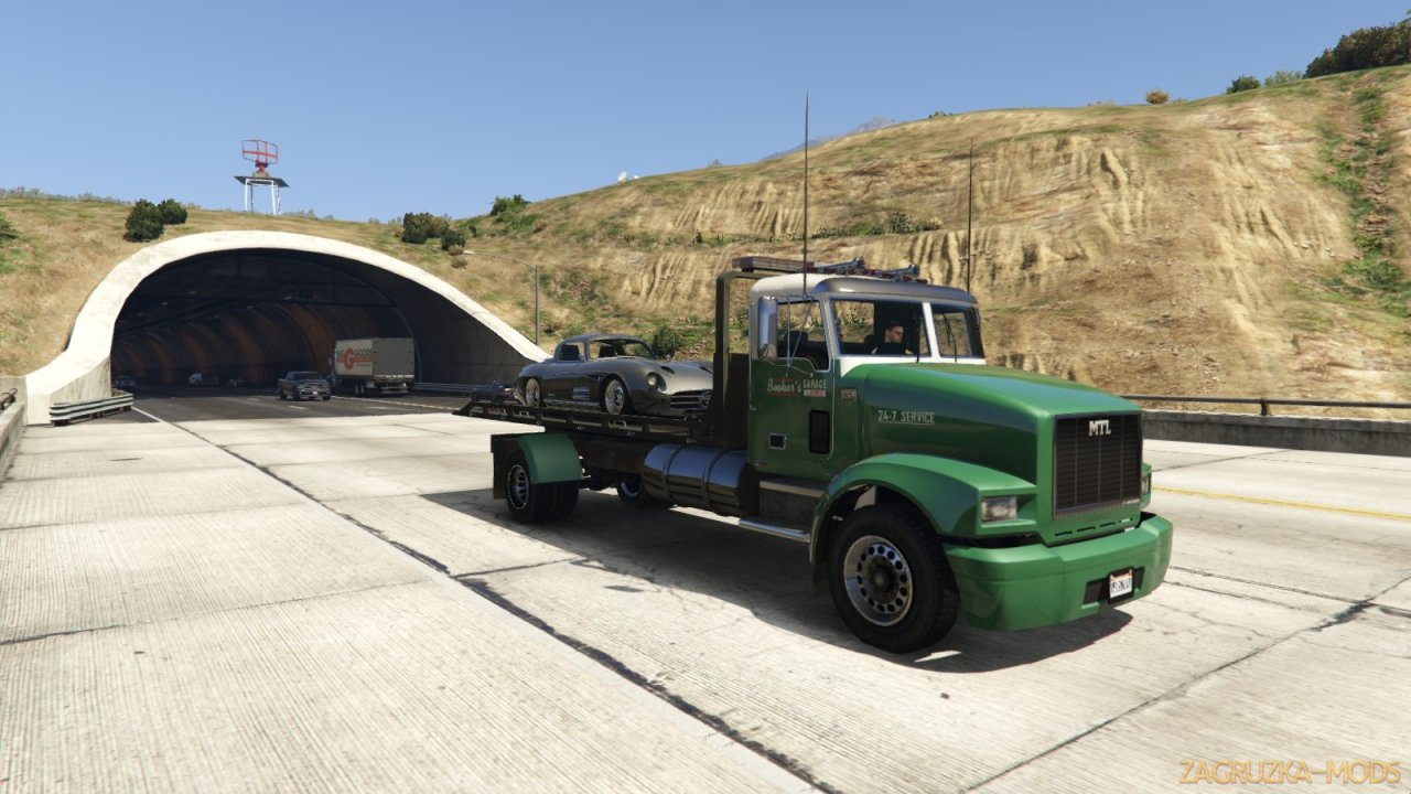 MTL Flatbed Tow Truck v5.0.1 for GTA 5
