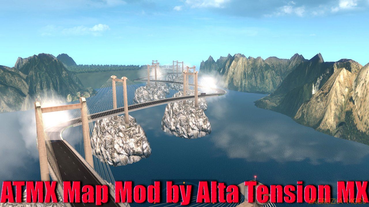 ATMX Map Mod v4.0 by Alta Tension MX (1.40.x) for ATS