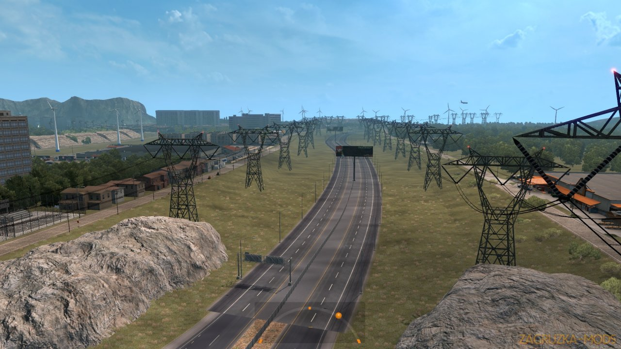 ATMX Map Mod v1.0 by Alta Tension MX (1.35.x) for ATS