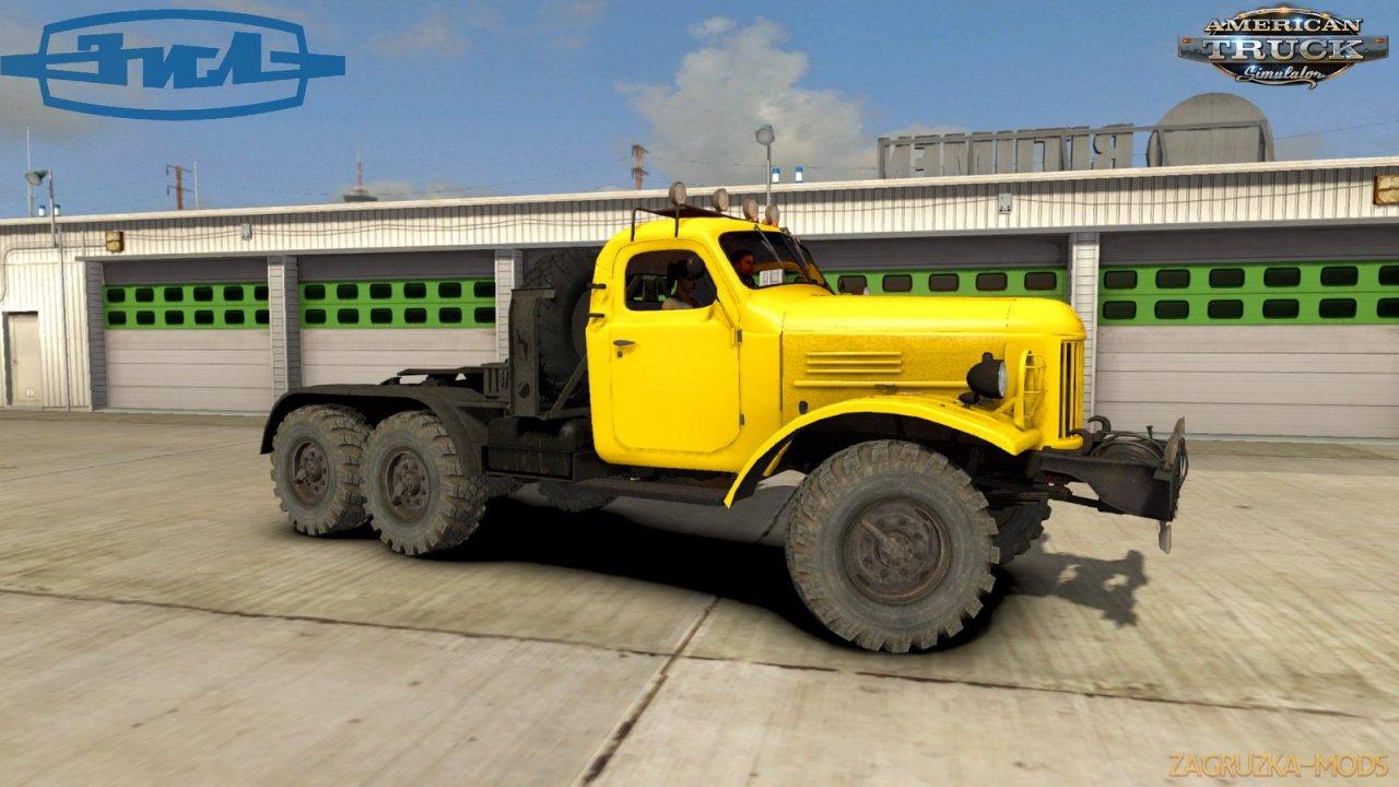 ZiL-157 Truck + Interior v1.5 (1.40.x) for ATS