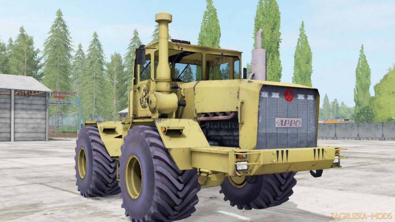Tractor Kirovets K-701 Yellow v1.0 for FS17
