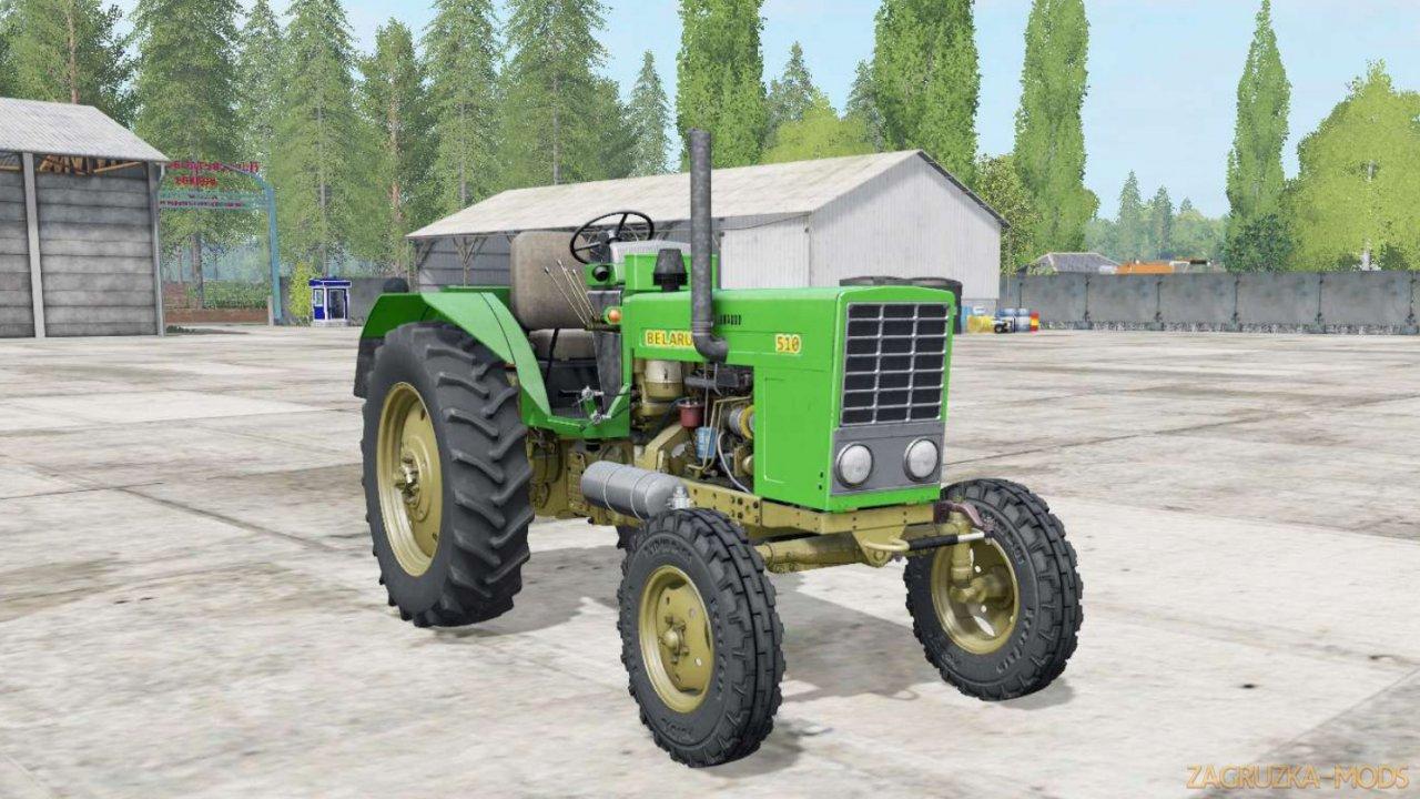 Tractor MTZ-500 Belarus v1.0 for FS17