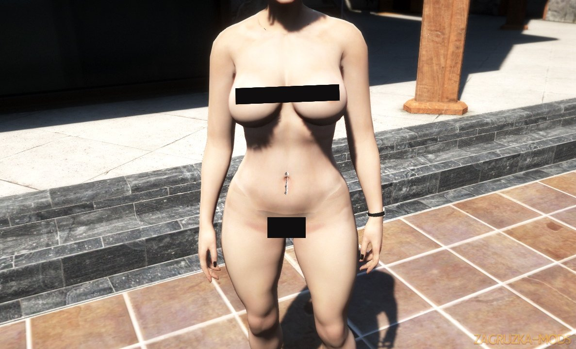 Realistic Naked body for Mpfemale v1.0 for GTA 5