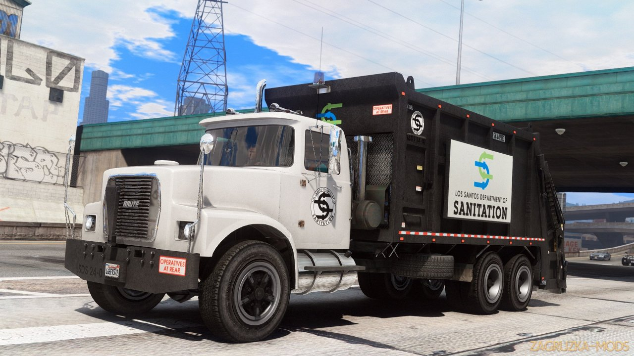 Brute Refuser Tipper-based Trashmaster v1.0 for GTA 5