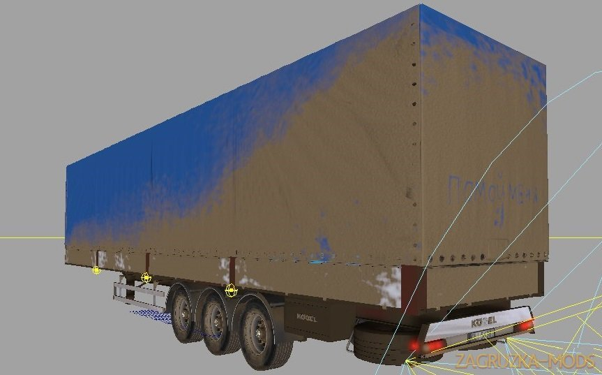 Trailer Kogel v2.0 by Artemich for FS17