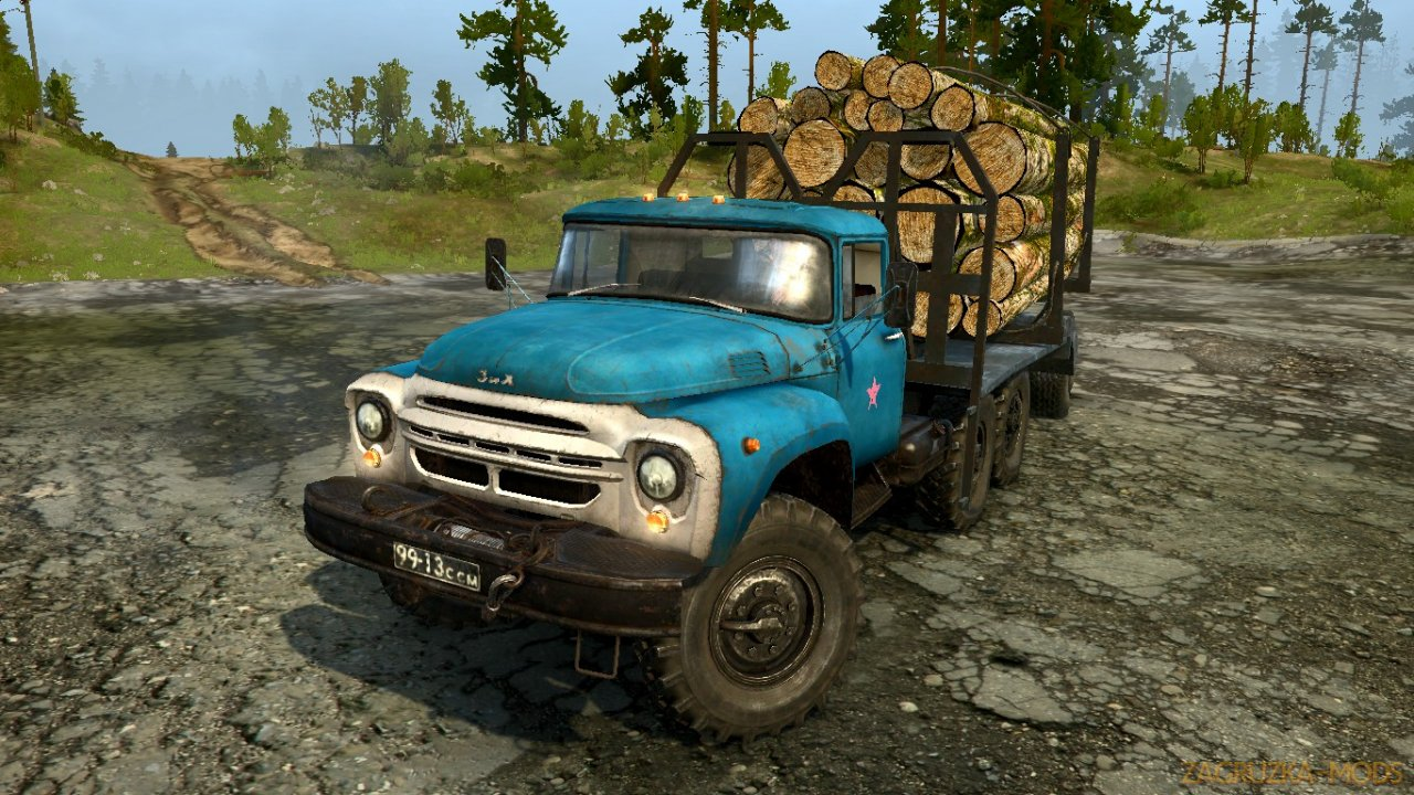 ZIL 130 Off-Road v1.0 for Spintires: MudRunner